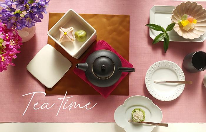 春のお茶時間