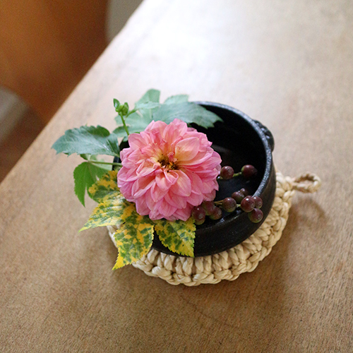 【まいにちと花】<br> 霜月11月 「晩秋、こっくり暖かく」