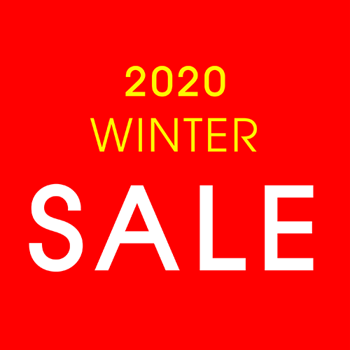 1/2(木)~1/31(金)<br>2020 WINTER SALE
