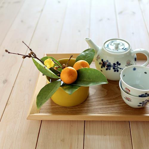 【まいにちと花】<br> 睦月1月 「お茶の時間に」
