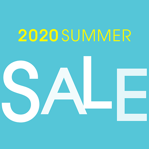 6/26(金)~7/12(日)<br>2020 SUMMER SALE
