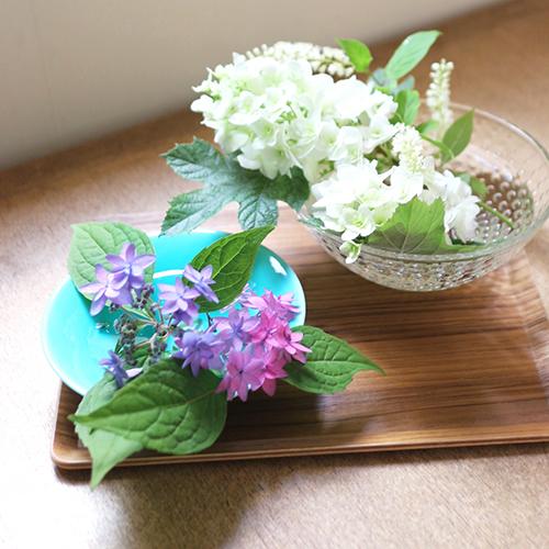 【まいにちと花】<br> 水無月6月 「静かな時間を」