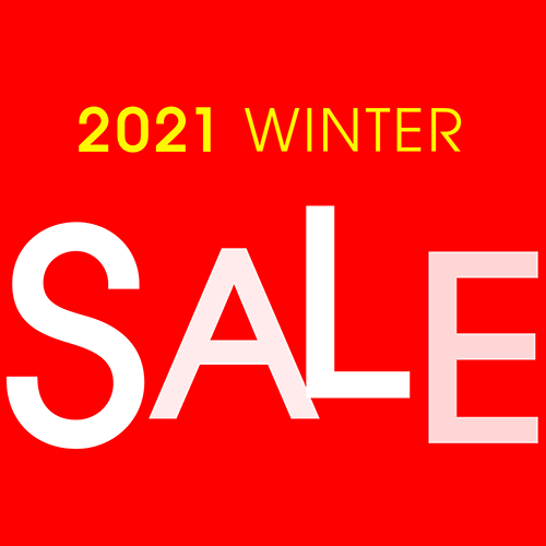 1/2(土)~1/31(日)<br>2021 WINTER SALE