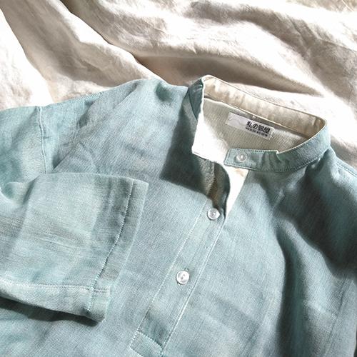 【スタッフのお気に入り】<br>三河木綿のガーゼパジャマ
