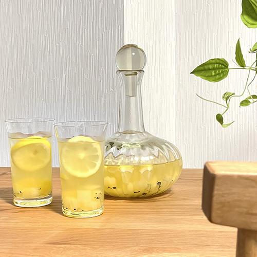【スタッフのおうち時間】<br>季節の果物で手作りサングリア